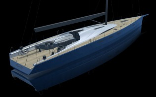 View large version of image: Infiniti 100 S Yacht with interior design by Design Unlimited