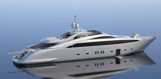 View large version of image: ISA sells first hybrid superyacht ISA 140'