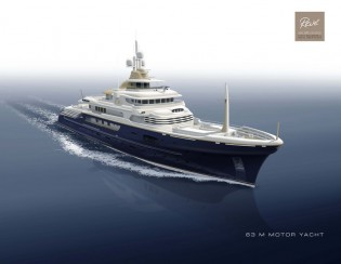 View large version of image: Project ZEUS Yacht by Hakvoort and Diana Yacht Design with delivery in 2017