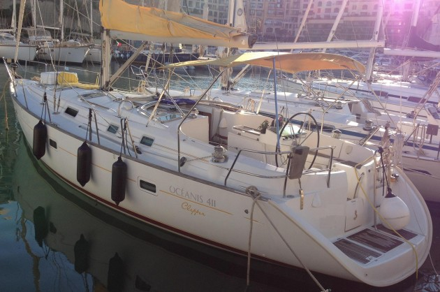 View large version of image: Beneteau 411 Clipper