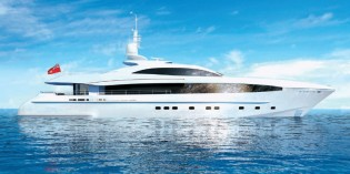 View large version of image: 40m Heesen superyacht Project GALATEA with delivery in December 2013