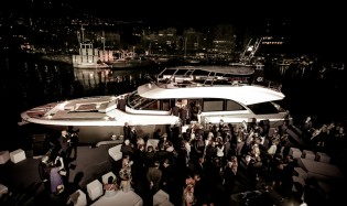 View large version of image: World Premiere for all-new MCY 86 Yacht by Monte Carlo Yachts