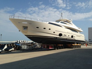 View large version of image: Ferretti Group launch Custom Line 112' NEXT superyacht HAPPY DAYS