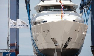 View large version of image: 13th and 14th Navetta 33 Crescendo Yachts launched by Ferretti Custom Line
