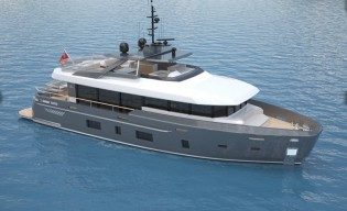 View large version of image: Horacio Bozzo reveals his latest DISCOVERY 88 Yacht Concept