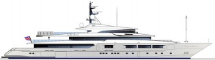 View large version of image: New 72m superyacht S72 to be presented by Tankoa Yachts at MYS 2013