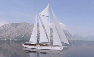 View large version of image: Croatia and Turkey Yacht Charter aboard Sailing Yacht Chronos