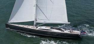 View large version of image: German Frers designed Baltic 107 luxury yacht INUKSHUK