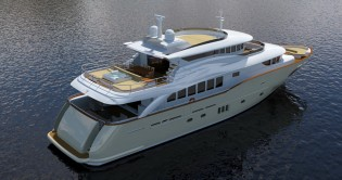 View large version of image: Filippetti Yacht working on new superyacht Navetta 30
