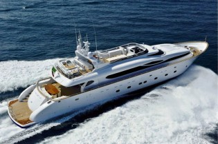 View large version of image: Greece yacht charter – Reduced rates for superyacht PARIS A in September