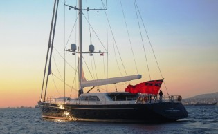 View large version of image: Perini Navi Group delivers superyacht STATE OF GRACE