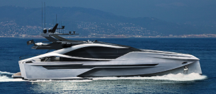 View large version of image: Superyacht PJ35M Carbon Sport unveiled by Palmer Johnson