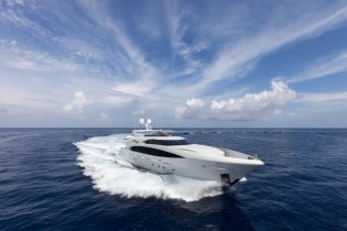 View large version of image: Trinity Yachts deliver 120ft superyacht FINISH LINE