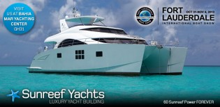 View large version of image: Lovely 60 Sunreef Power Yacht FOREVER to make her US premiere at FLIBS 2013