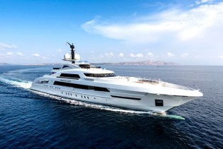 View large version of image: 'Best Yacht of Monaco Yacht Show 2013' Award for GALACTICA STAR Yacht designed by Omega Architects