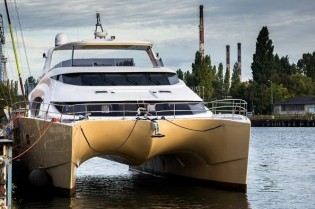 View large version of image: New 70 Sunreef Power Yacht ETTY launched by Sunreef Yachts
