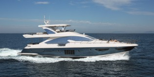 View large version of image: US premiere for Azimut 80 Yacht at Ft. Lauderdale Boat Show 2013