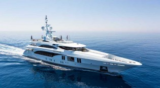 View large version of image: RINA GREEN PLUS prize for Benetti superyacht OCEAN PARADISE
