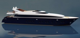 View large version of image: CNT - Castagnola working on new Castagnola 38 WJ Yacht ANGRA TOO
