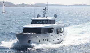View large version of image: New 30m superyacht ALEICA delivered by Benetti Sail Division