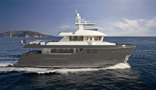 View large version of image: Cantiere delle Marche announces sale of new Darwin Class 107 Yacht