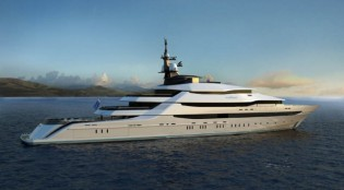 View large version of image: 'Best Yacht Design over 50m' Award for Oceanco superyacht ST PRINCESS OLGA (Y708)
