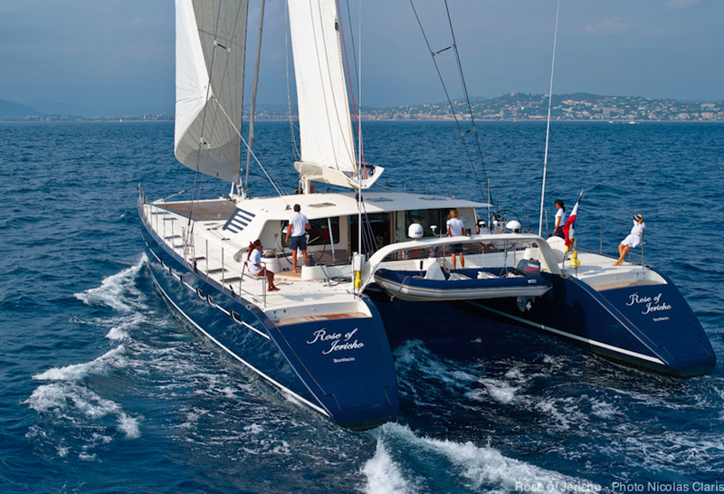 View Large Version Of Image PANAMA YACHT CHARTER And World Tour For Luxury Sailing Catamaran