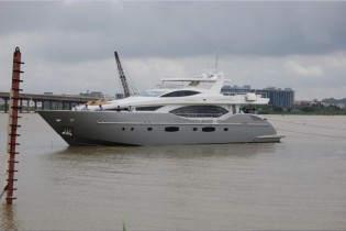 View large version of image: IAG Yachts launch and deliver second Electra 100 Yacht