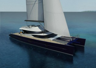View large version of image: Construction of new superyacht Blue Coast 101' DD