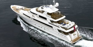 View large version of image: Delivery of new Westport 130 superyacht FRUITION (hull 4010)