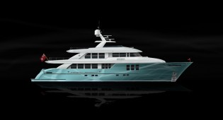 View large version of image: Latest 85- to 125-foot custom designed superyachts by Boksa Marine Design