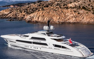 View large version of image: Heesen superyacht GALACTICA STAR named 'Best of the Best' by Robb Report China