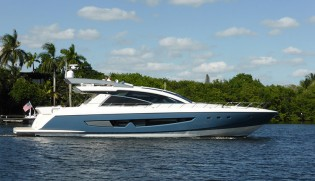 View large version of image: World Debut for Cheoy Lee Yacht ALPHA 87 Express Sportbridge at FLIBS