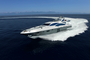 View large version of image: Delivery of new Azimut Grande 120SL superyacht