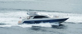 View large version of image: New superyacht Alpha 87 Express Sportbridge by Cheoy Lee