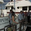 Christening of 86' Outer Reef Yacht TI PUNCH at 2013 FLIBS