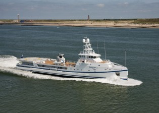 View large version of image: Innovation Award for 67m Fast Yacht Support vessel GARCON
