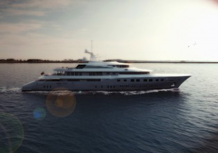View large version of image: New 73m Dunya superyacht Axioma (ex Red Square) delivered