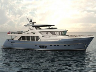 View large version of image: Jet-Tern Marine working on Selene 92 superyacht