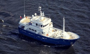 View large version of image: 24m Research Vessel Yacht ANDROS designed by Vripack