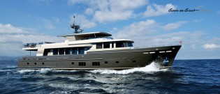 View large version of image: New 37M Continental Trawler superyacht by Guido de Groot and Wim van der Valk
