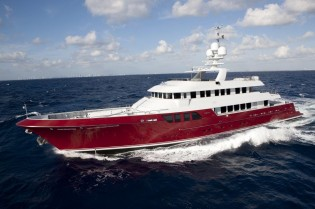 View large version of image: Sale of 46m superyacht QING (ex MAZU) announced by MCC