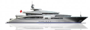 View large version of image: Moore Yacht Design unveils new 70m Motor Yacht Project