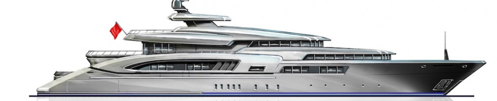 Moore Yacht Design unveils new 70m Motor Yacht Project