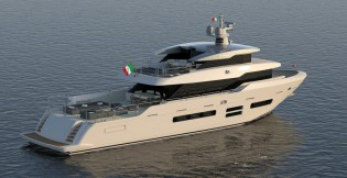 View large version of image: Canados introduces new line of fast explorer yachts