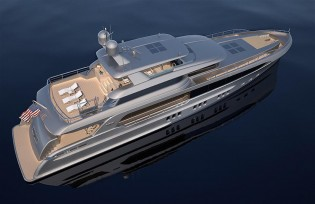 View large version of image: Latest superyacht BURGER 121' by Burger Boat Company