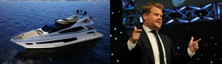 View large version of image: Sunseeker 75 Yacht to be launched by James Corden at London Boat Show 2014