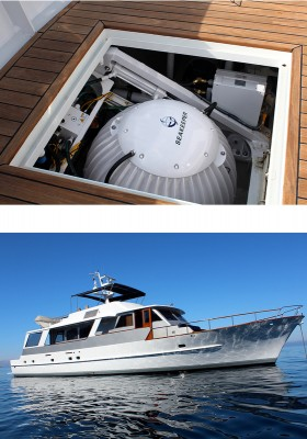 View large version of image: Feadship Yacht MARIA fitted with Seakeeper gyro