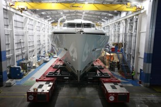 View large version of image: First Sunseeker 155 Yacht ready for sea trials