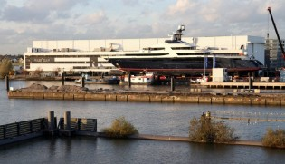 View large version of image: Latest 85m superyacht Hull Y711/Hull 3069 by Oceanco and Vitters